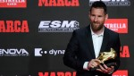 Lionel Messi Singles Out Two Barcelona Players for Praise Following Sixth Golden Shoe Award
