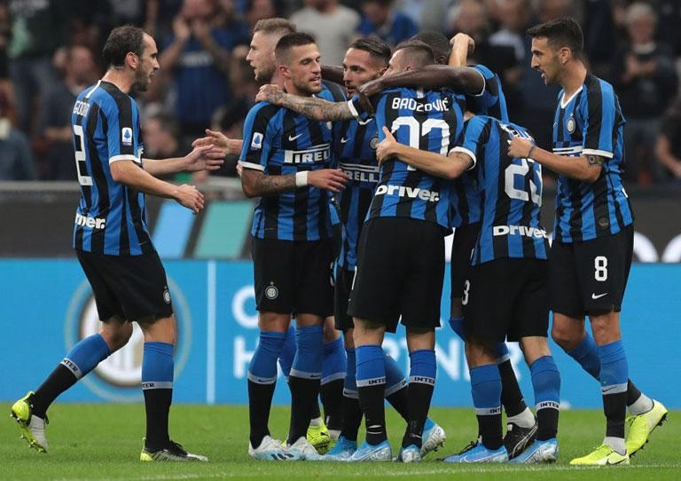 INTER: TOWARDS THE SASSUOLO GAME