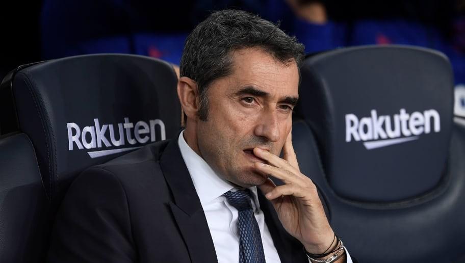 Ernesto Valverde Insists He Has 'No Doubt' That El Clasico Will Go Ahead as Planned Despite Unrest