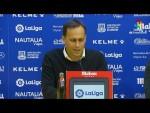 Rueda de prensa de  Fran Fernández tras el AD Alcorcón vs UD Almería (2-2)