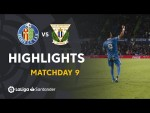 Highlights Getafe CF vs CD Leganes (2-0)