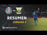 Resumen de Getafe CF vs CD Leganés (2-0)
