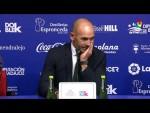 Rueda de prensa de  Paco Jémez tras el Extremadura UD vs Rayo Vallecano (0-3)