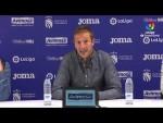 Rueda de prensa de  Luis Miguel Ramis tras el CF Fuenlabrada vs Albacete BP (0-1)