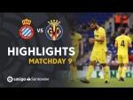 Highlights RCD Espanyol vs Villarreal CF (0-1)