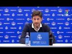 Rueda de prensa de Víctor Sánchez del Amo tras el RC Deportivo vs Málaga CF (0-2)