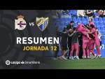 Resumen de RC Deportivo vs Málaga CF (0-2)