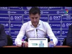 Rueda de prensa de Iván Ania tras el CD Tenerife vs Real Racing Club (3-3)