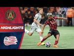 Atlanta United vs. New England Revolution | Stunning Golazo Wins The Game! | PLAYOFF HIGHLIGHTS