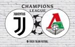 Juventus v Lokomotiv Moscow: Official Line-Ups