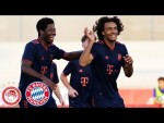 Joshua Zirkzee scores 3 Goals | Olympiakos Piräus vs. FC Bayern 0-4 | Highlights - UEFA Youth League