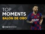 Los candidatos de LaLiga Santander al Balón de Oro 2019
