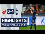 GIOVANI LO CELSO'S FIRST SPURS GOAL | HIGHLIGHTS | Crvena Zvezda 0-4 Spurs