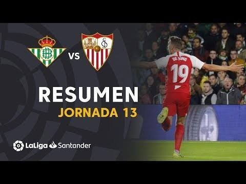 Resumen de Real Betis vs Sevilla FC (1-2)
