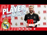 Benzema, Five Star Player of the Month for October!