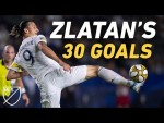 Zlatan Ibrahimovic Conquered MLS with 30 GOALS in 2019! ALL GOALS