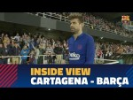 [BEHIND THE SCENES] The friendly match in Cartagena from the inside
