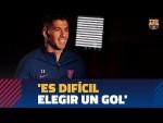 """ENTREVISTA EXCLUSIVA   Luis Suárez: 'He marcado 185 goles con el Barça  y es difícil elegir uno"""""""