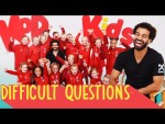 Mo Salah quizzed by 8 year old girls | Fortnite dance moves, FIFA 20 ratings and Scouse