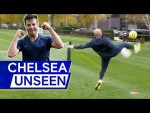 Azpilicueta v Marcos Alonso v Caballero In Ace Headers and Volleys Challenge! ⚽️ | Chelsea Unseen