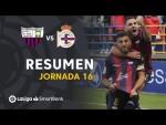Resumen de Extremadura UD vs RC Deportivo (2-0)