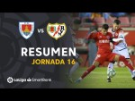 Resumen de CD Numancia vs Rayo Vallecano (2-2)
