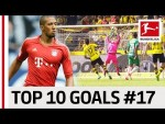 Top 10 Goals Jersey Number 17 - Aubameyang, Boateng, Bruma & Co.