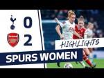 HIGHLIGHTS | SPURS WOMEN 0-2 ARSENAL