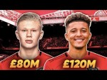 Manchester United Target £200m Jadon Sancho & Haaland In January!? | W&L