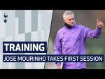 TRAINING   JOSE MOURINHO TAKES HIS FIRST TRAINING SESSION AT SPURS