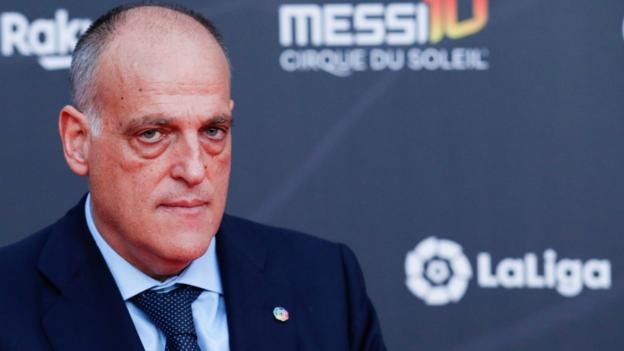 La Liga: Javier Tebas resigns as president but will stand for re-election