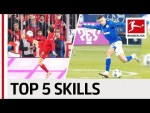 Top 5 Skills in November - Lewandowski, Harit & Co