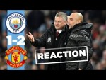 Pep Reacts to Derby defeat | Man City 1-2 Man Utd