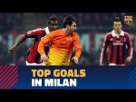 Some of the greates goals against Italian teams in Milan