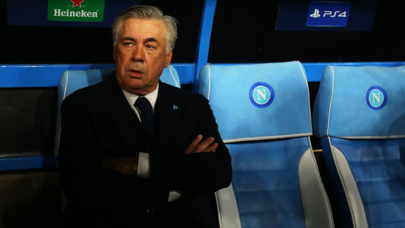 Carlo Ancelotti sacked at Napoli despite spot in Champions League knockout stage
