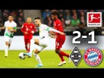 Last-Minute Drama in Top Clash I Borussia Mönchengladbach vs. FC Bayern München I 2-1 I Highlights