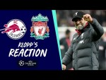 Klopp's Reaction: Lovren injury, Salah's goal and Salzburg respect | FC Salzburg vs Liverpool