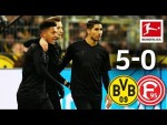 The Reus & Sancho Show - Borussia Dortmund vs. Fortuna Düsseldorf I 5-0 I All Goals