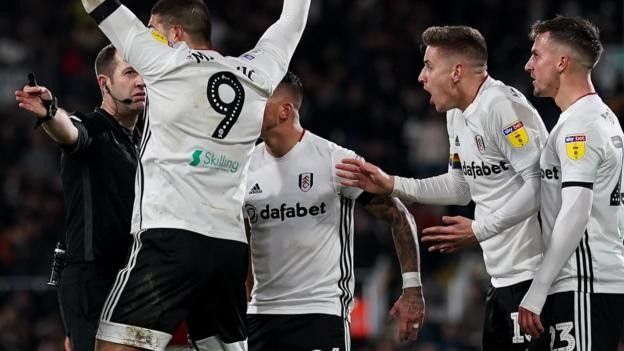 Fulham handed disorderly conduct charge after penalty protests against Bristol City