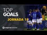 Todos los goles de la Jornada 19 de LaLiga SmartBank 2019/2020