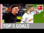 Sancho, Werner, Bensebaini & More - Top 5 Goals on Matchday 14