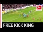 The Bundesliga's New Free-Kick Hero - All 8 Goals From Jonathan Schmid
