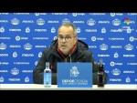 Rueda de prensa de Álvaro Cervera tras el RC Deportivo vs Cádiz CF (1-0)