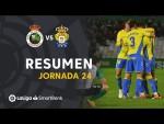 Resumen de Real Racing Club vs UD Las Palmas (1-1)