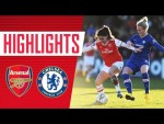 HIGHLIGHTS   Arsenal Women 1-4 Chelsea   Women's Super League