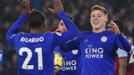 Leicester 4-1 West Ham: Routine win for Foxes despite Jamie Vardy blow