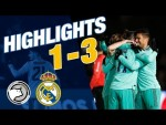 HIGHLIGHTS   Unionistas CF 1-3 Real Madrid   ALL GOALS