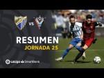 Resumen de Málaga CF vs CD Mirandés (2-2)
