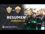 Resumen de UD Almería vs Elche CF (0-2)