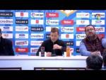 Rueda de prensa de Manuel Mosquera tras el Rayo Vallecano vs Extremadura UD (1-1)